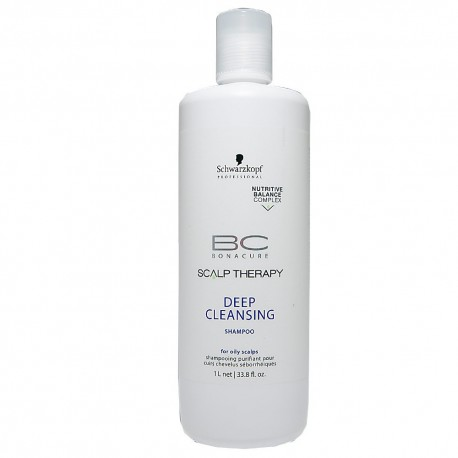 Schwarzkopf Bc Scalp Therapy Champú Deep Cleansing 1000 ml