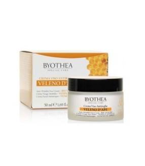 BYOTHEA Crema Facial Antiarrugas VENERO DE ABEJA 50 ml