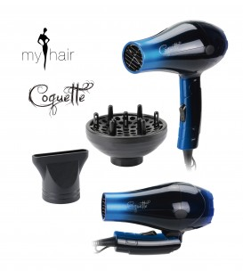 Mini Secador plegable My Hair COQUETTE TRAVEL.