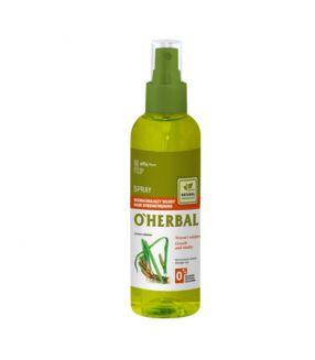 O' Herbal Spray Fortalecimiento Cabello 200 ml.