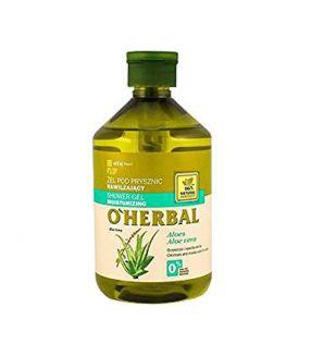 O'Herbal Gel de Ducha Hidratante Aloe Vera 500 ml.