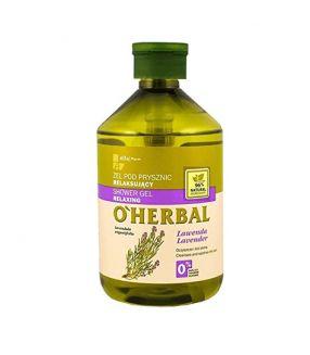 O'Herbal Gel de Ducha Relajante Lavanda 500 ml.