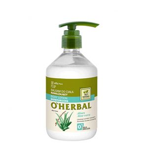 O'Herbal Bálsamo Corporal Hidratante Aloe Vera 500 ml.