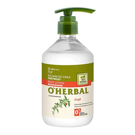 O'Herbal Bálsamo Coroporal Nutritivo Goji 500 ml.
