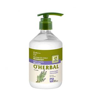 O'Herbal Bálsamo Corporal Relajante Lavanda 500 ml.