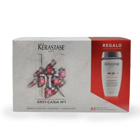 Kerastase Specifique Aminexil Anti-Caida 42ud + champú