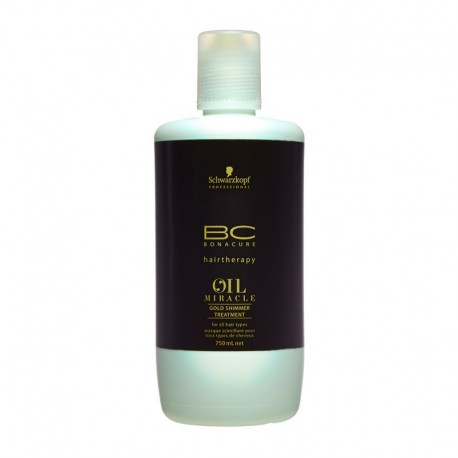 Schwarzkopf Bc Oil Miracle Tratamiento Brillo Dorado 750 ml