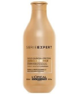 Champú Absolut Repair Gold Quinoa Expert Loreal 300ml