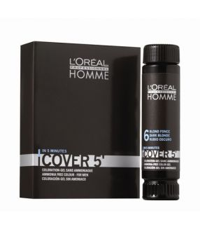 Tinte Loreal Homme Cover 5' Sin Amoniaco Nº4 50ml
