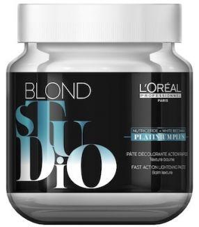 Pasta Decolorante Platinium Plus Blond Studio Loreal 500gr