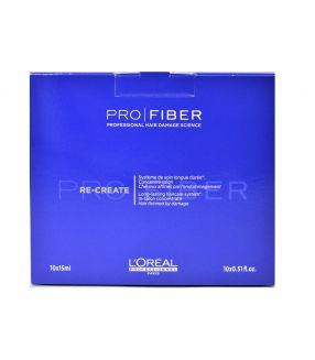 Tratamiento Concentrado Pro Fiber Re-Create Loreal 10x15ml