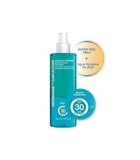 Loción Corporal Blue Protective Oil & Water SPF30 Golden Caresse Germaine De Capuccini 200ml