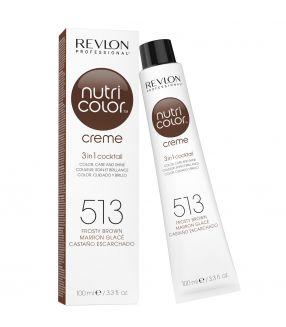 Revlon Nutri Color Creme 3 in 1 Cocktail 513 Marrón Glacé 100ml