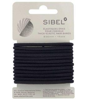 Gomas Elásticas Negro Sibel 50mm 16ud