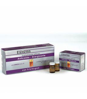 Tratamiento Anticaída-Energizante con Trichogen Exitenn 12x7ml