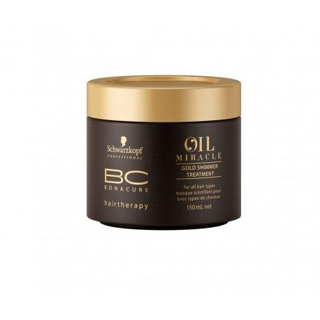 Schwarzkopf Bc Oil Miracle Tratamiento Brillo Dorado 150 ml