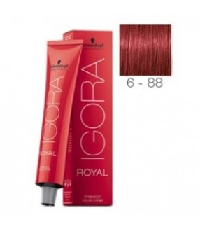 Schwarzkopf Igora Royal Tinte 6-88 Rubio Oscuro Rojo Intenso