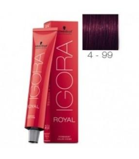 Schwarzkopf Igora Royal Tinte 4-99 Castaño Medio Violeta Extra
