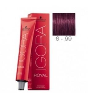 Schwarzkopf Igora Royal Tinte 6-99 Rubio Oscuro Violeta Extra