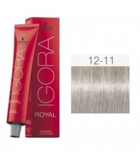 Schwarzkopf Igora Royal Tinte 12-11 Superaclarante Ceniza Intenso