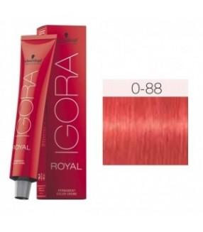 Schwarzkopf Igora Royal Tinte 0-88 Tono Mezcla Rojo