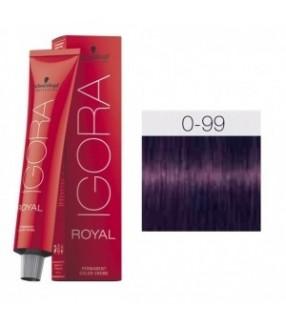 Schwarzkopf Igora Royal Tinte 0-99 Tono Mezcla Violeta