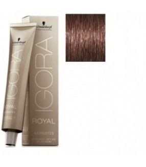 Schwarzkopf Igora Royal Absolutes Tinte 4-50 Castaño Medio Dorado Natural