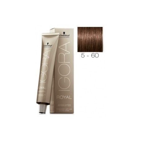 Schwarzkopf Igora Royal Absolutes Tinte 5-60 Castaño Claro Marrón Natural