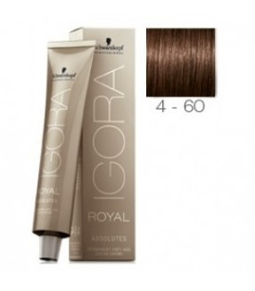 Schwarzkopf Igora Royal Absolutes Tinte 4-60 Castaño Medio Marrón Natural