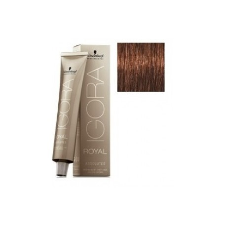 Schwarzkopf Igora Royal Absolutes Tinte 5-70 Castaño claro Cobrizo Natural