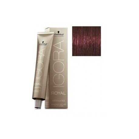 Schwarzkopf Igora Royal Absolutes Tinte 4-80 Castaño Medio Rojo Natural