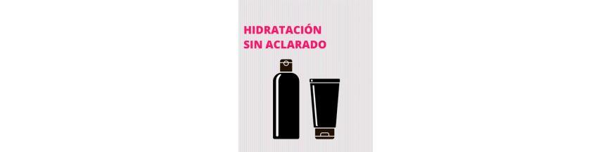 Hidratación sin aclarado y protección térmica