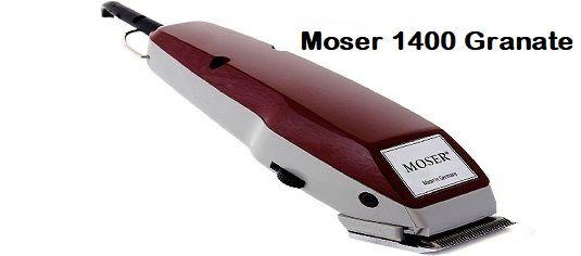 Máquina Cortapelos Moser 1400 Set Completo Granate